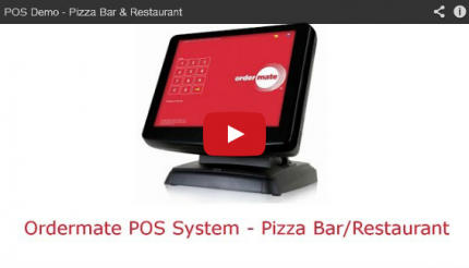 Watch the OrderMate demo for Pizza Bars