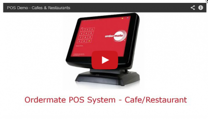 Watch the OrderMate demo for Cafes