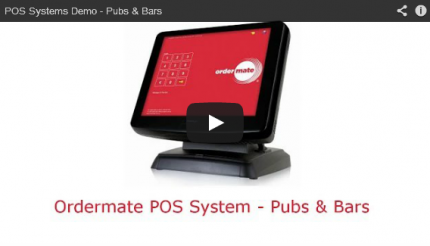 Watch the OrderMate demo for Pubs